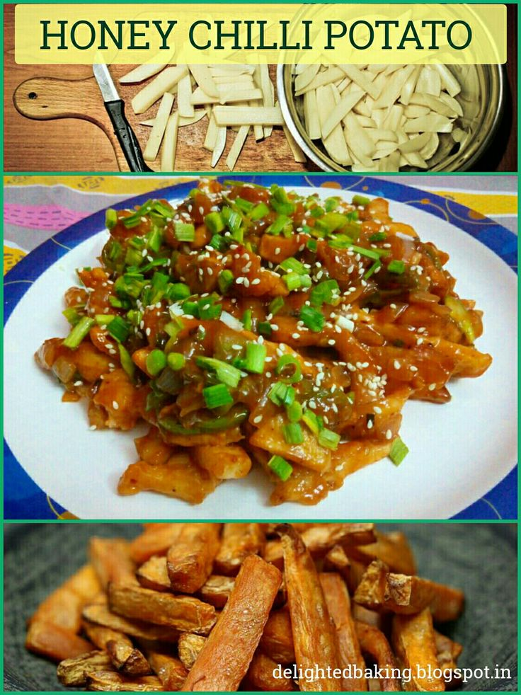 HONEY CHILLI POTATO - Tasty Chinese snack. Best for parties. Even your kids are gonna love this. Do try this recipe!