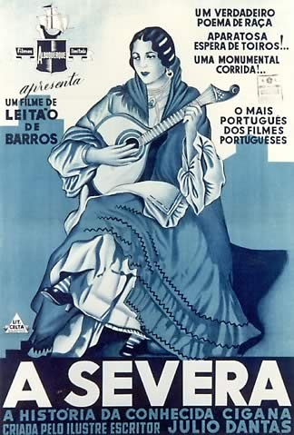 A Severa, fado movie poster 1931