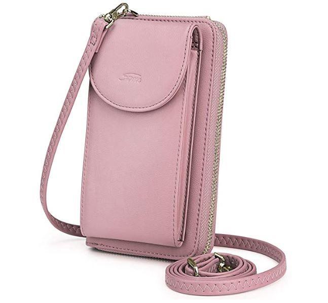 Small Crossbody Bag Leather Card Slots Wallet Shoulder Purses Fashion Travel Wallet Summer Night Phone Purse