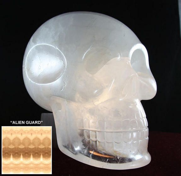 Einstein, the ancient crystal skull of consciousness and oneness.