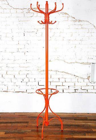 orange coat rack?