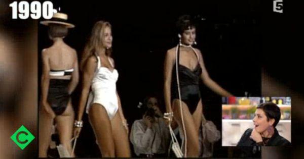Cristina Cordula : Mannequin sexy lors d'un défilé Chanel à 25 ans ! Check more at http://people.webissimo.biz/cristina-cordula-mannequin-sexy-lors-dun-defile-chanel-a-25-ans/