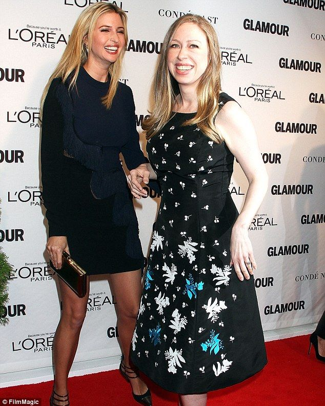 Strained:Chelsea Clinton and Ivanka Trump's friendship has suffered as their parents batt...