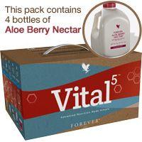 Vital5 Pak with Forever Aloe Berry Nectar