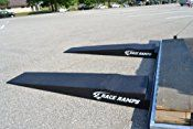 Race Ramps (RR-TR-9-FLP) 9″ Trailer Ramp with Flap Cutout, Pack of 2