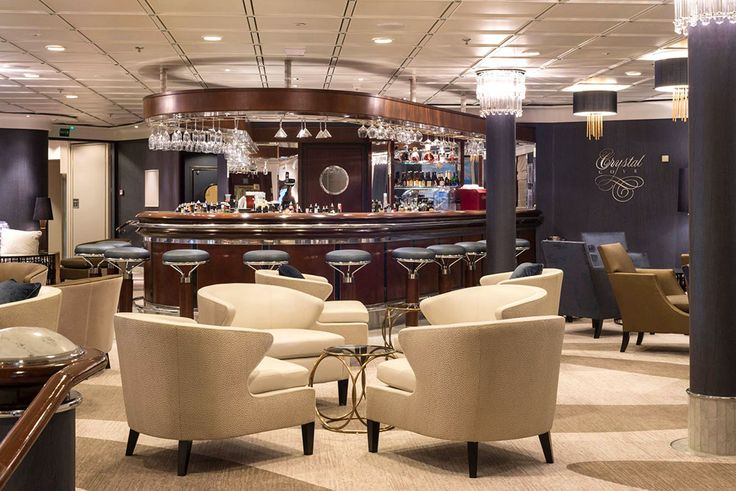 Cove Bar ~ Crystal Symphony Emerges Refreshed from Drydock | Popular Cruising (Image Copyright © Crystal Cruises)