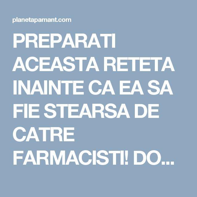PREPARATI ACEASTA RETETA INAINTE CA EA SA FIE STEARSA DE CATRE FARMACISTI! DOAR 4 LINGURI DIN ACEST AMESTEC SI PUTETI SPUNE ADIO PENTRU TOTDEAUNA HIPERTENSIUNII ARTERIALE SI ARTERELOR INFUNDATE!