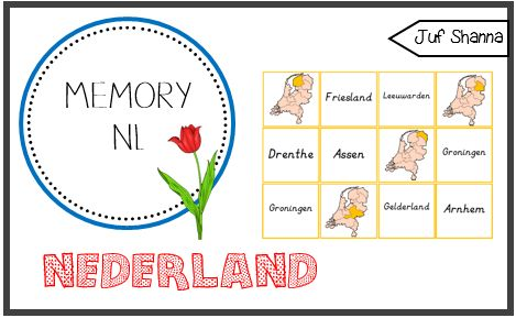 Memory Nederland - jufshanna.nl