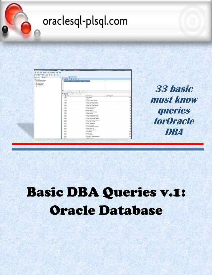 Oracle DBA 11g/12c - Database Administration for Junior ...