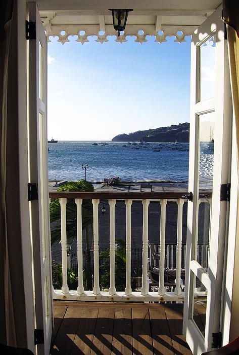 Lovers Suite - photograph of romantic room view in the Victoriano Hotel, San Juan Del Sur, Nicaragua