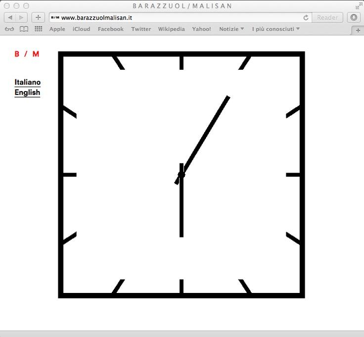 B/M — New Home Page Animation /   www.barazzuolmalisan.it