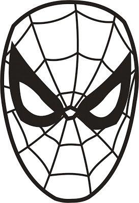 Mask Printable Spiderman Mask Printable Masks