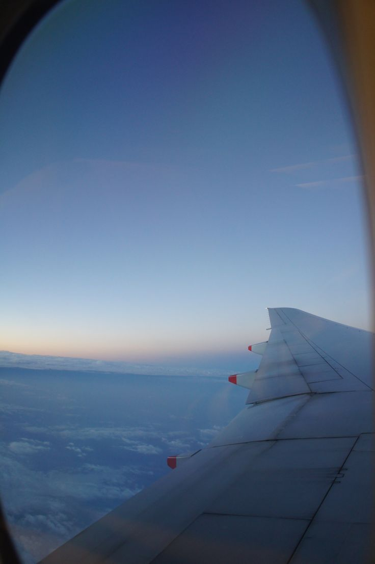 On the plane to Greece