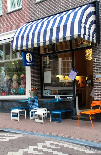 Pancakes! Amsterdam | Delicious pancakes, nice location near the Houseboat Museum and shopping, plus they give you a keepsake wooden shoe with your bill. Charming!
