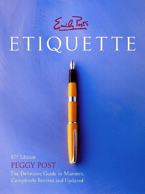 """Peggy Post (Kappa Alpha Theta) is the Director of the Emily Post Institute and is the author of """"Emily Post's Etiquette,"""" among other etiquette books. #npcscholar"""