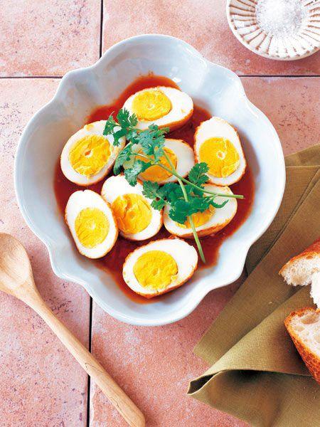 【ELLE a table】揚げ卵のトマト煮レシピ エル・オンライン