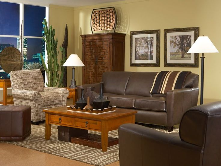 The Chestnut With Union Square Living Room Set Offers A Classic Cultured  Look, At Home