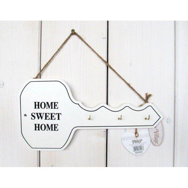 Vešiak  na kľúče Home Sweet Home