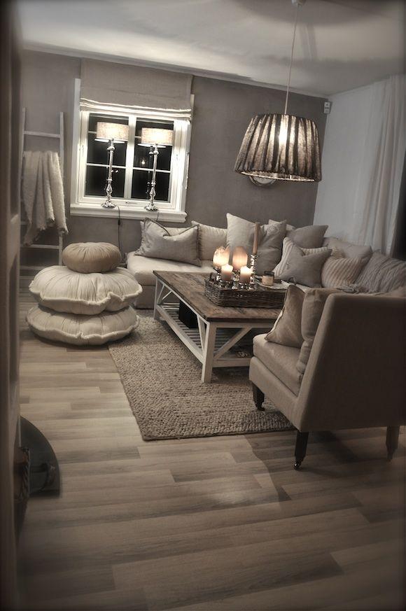 Tout droit venu de Norvège, un salon bien douillet pour une ambiance chaleureuse.