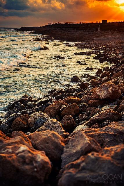Paphos Shoreline, Cyprus