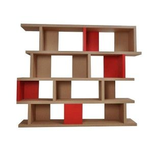 ETAGE-R bookcase (various colours). Designed byCarton Styl. Available on www.darwinshome.com
