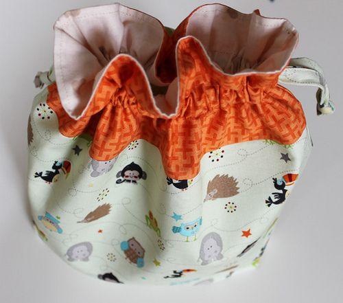 Come cucire sacchetto per asilo bimbi - Tutorial