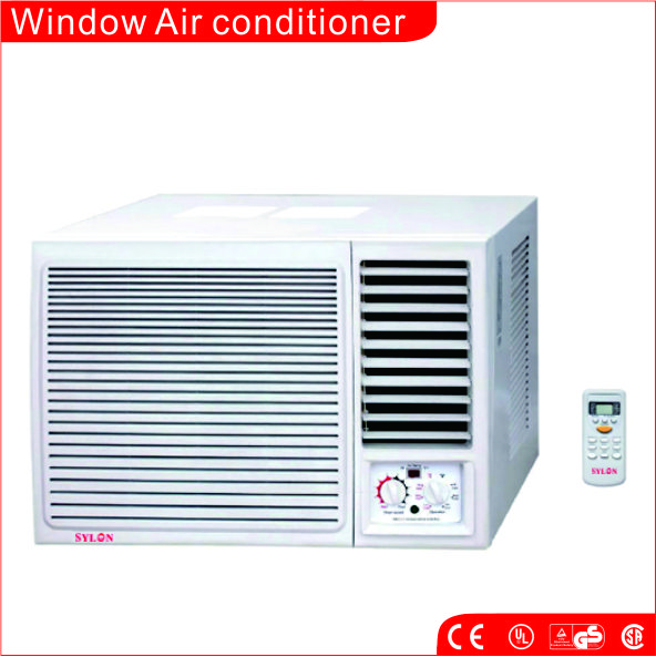 """Sanyo Compressor ,12000Btu/h Window Mounted Air Conditioner for Cooling"""