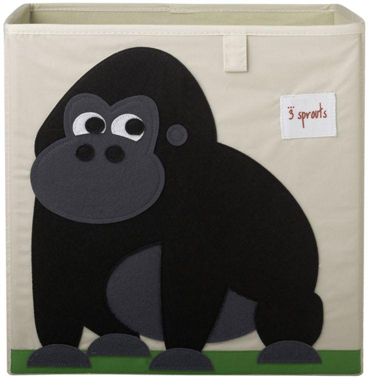 Köp 3 Sprouts Förvaringsbox Gorilla | Barnrummet Förvaring | Jollyroom