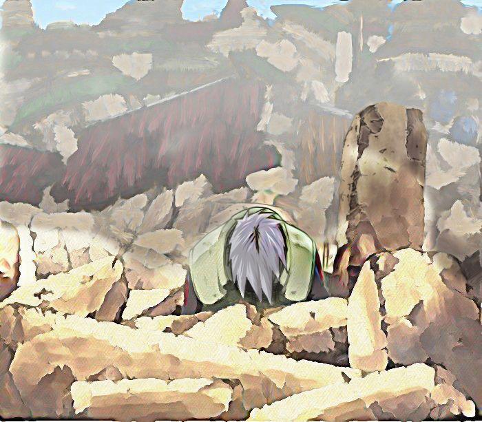 Day 12 (Saddest Anime Moment)- Kakashi's Death (Skipped Day 11)