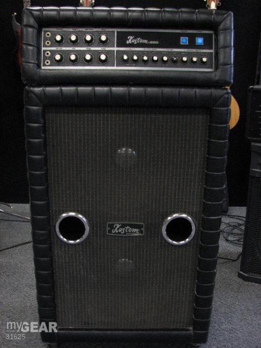 dating vintage kustom amps