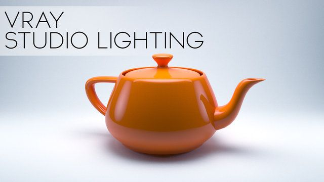 Studio Lighting in Vray - 3DS Max 2014 on Vimeo