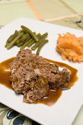 Pain de viande d'orignal aux poivrons rouges | Doumdoum se régale!