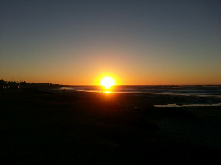Sunset over Melkbosstrand Cape Town