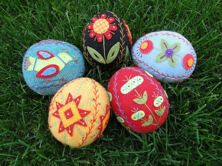 59 Best Images About Easter Wool Applique On Pinterest