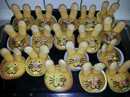 Hasenmuffins – Kita – #Hasenmuffins #Kita
