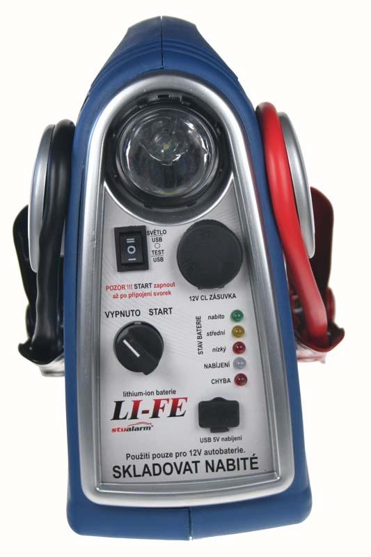 Startovací baterie LiFeP04 12V, 300A Autobaterie - Autodoplňky - Autosklo