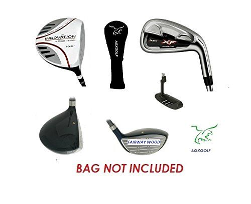 AGXGOLF Men's Left Hand XF Edition Executive Golf Club Set; Callaway Style Irons in Cadet, Regular or Tall Length; Free Putter Fast Shipping! Built IN USA!