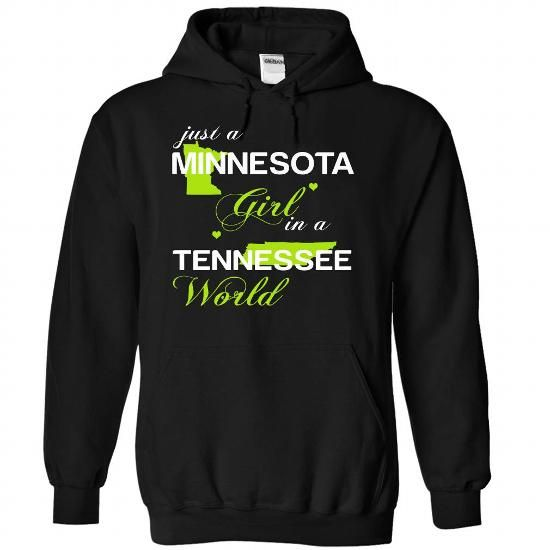 (MNJustXanhChuoi001) Just A Minnesota Girl In A Tenness - #gifts #husband gift. GET IT => https://www.sunfrog.com/Valentines/-28MNJustXanhChuoi001-29-Just-A-Minnesota-Girl-In-A-Tennessee-World-Black-Hoodie.html?68278