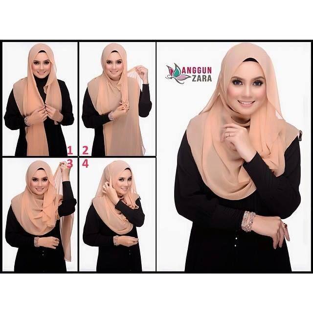 Anggun Zara Hijab Tutorial