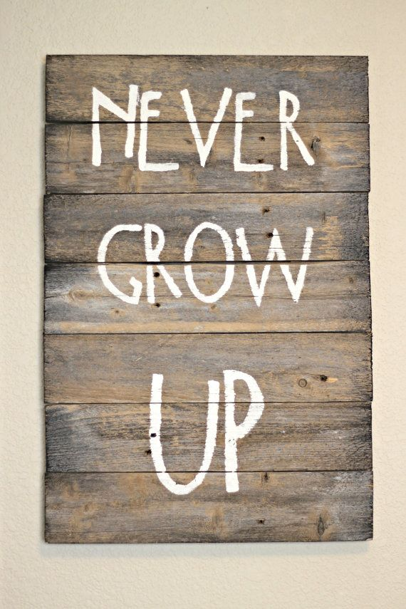 sign-nursery-baby-kids room-wood plaque-rustic- wall decor-painted wood sign-country-distressed-decoration- accessories-woodworking-barnwood on Etsy, $40.00