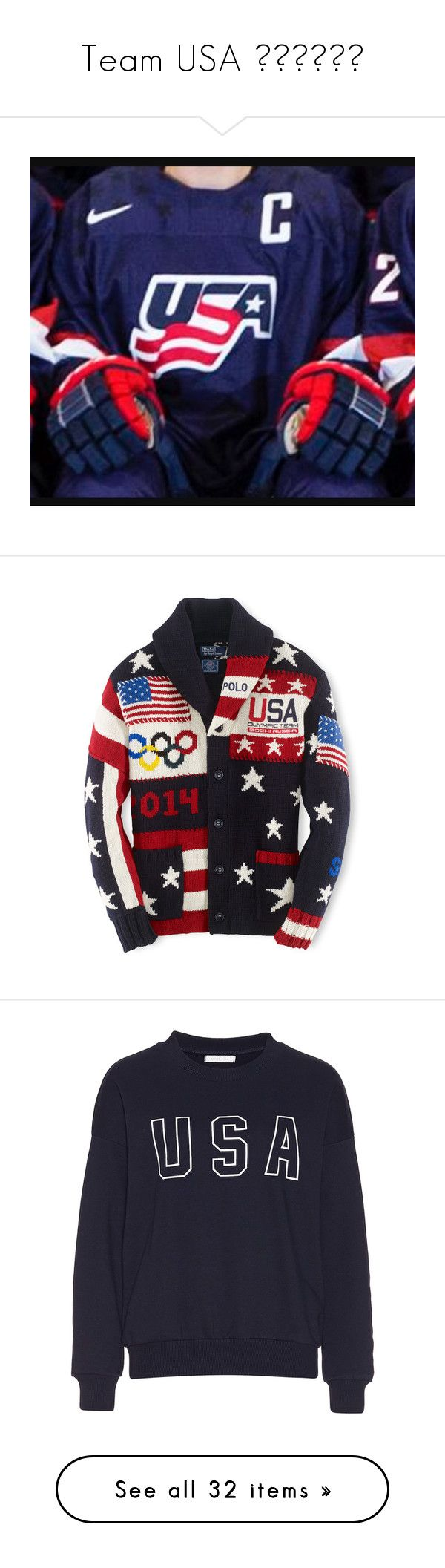 """""""Team USA 🇺🇸🇺🇸🇺🇸"""" by jbiebzgurl ❤ liked on Polyvore featuring jewelry, navy jewelry, navy blue jewelry, men's fashion, men's clothing, men's activewear, men's activewear jackets, obsidian, mens activewear and hats"""