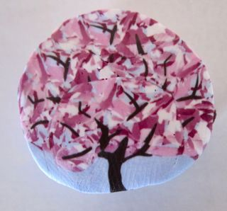 polymer clay cherry tree cane | polymer clay Love it! | Pinterest