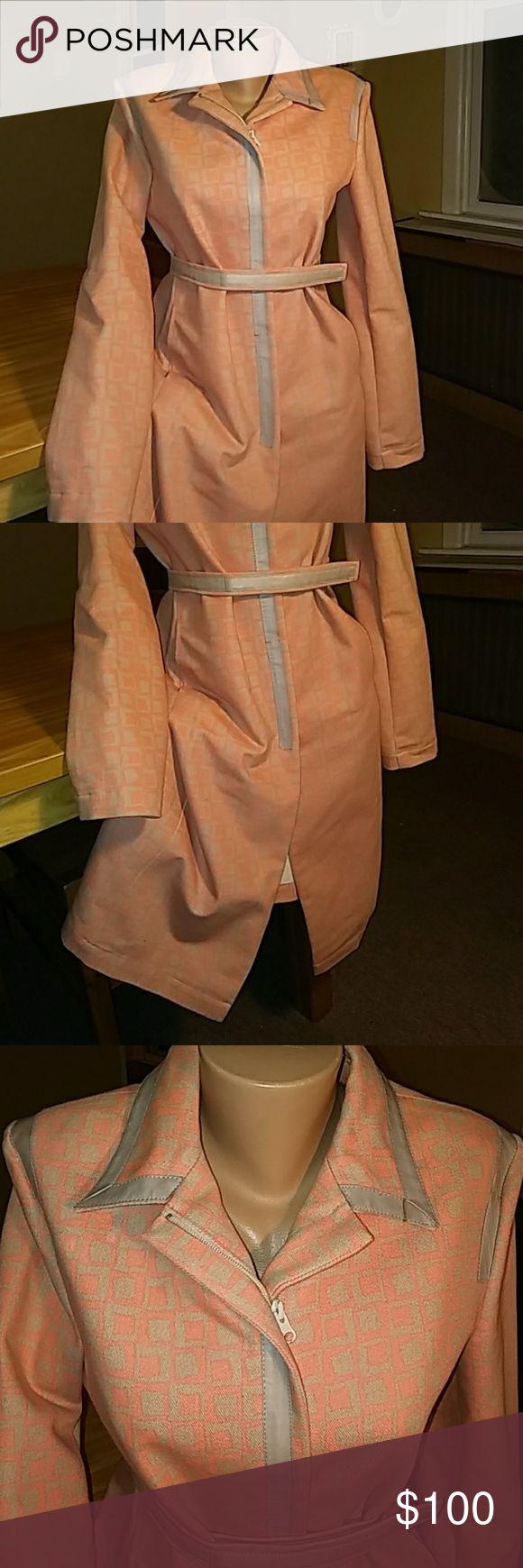 PF PAOLA FRANI Pre luved long coat jacket Paola Frani Jackets & Coats