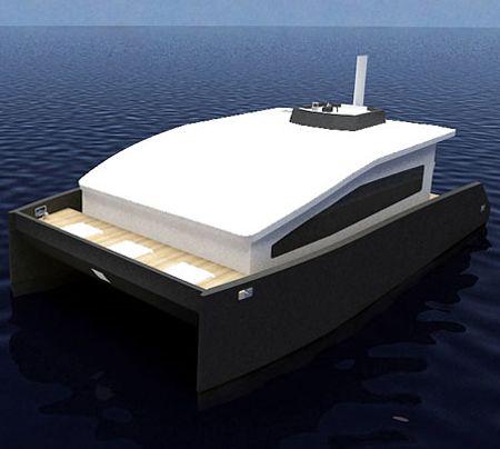 12m houseboat