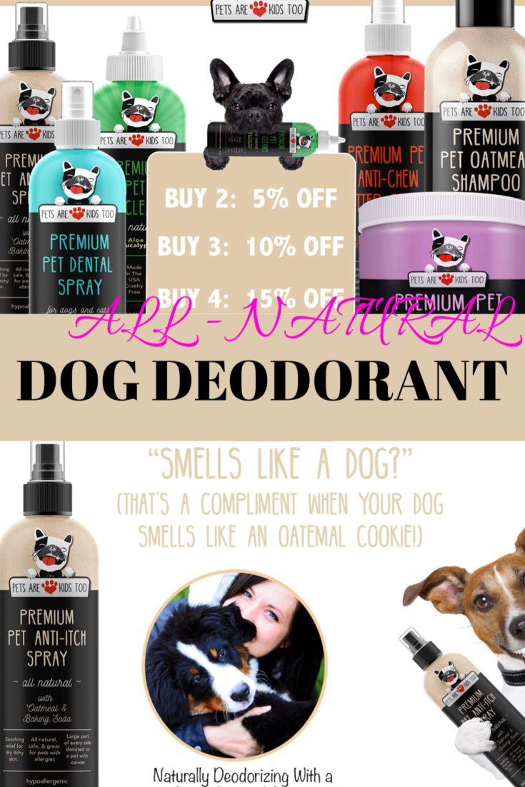 Best Dog Deodorant You Never Seen Before 2020 in 2020 ...