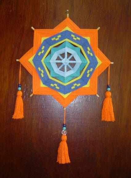 Olho-de-deus - Mandala De Linha