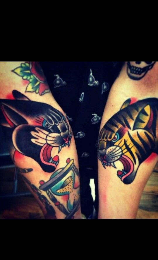 80 best tiger panther images on pinterest tattoo for Panther tiger tattoo