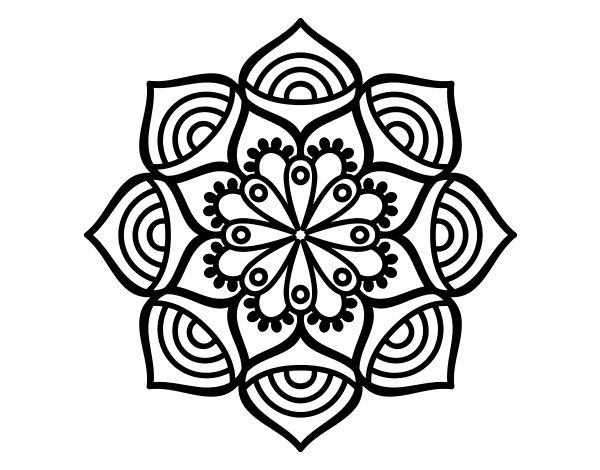 Las 25 mejores ideas sobre dise o dibujo de mandala en for Disenos de mandalas