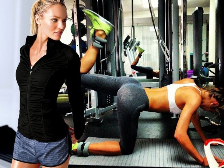 candice swanepoel workout