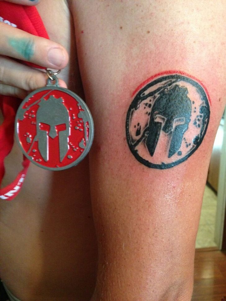 35 Best Images About Spartan Race Tattoo On Pinterest